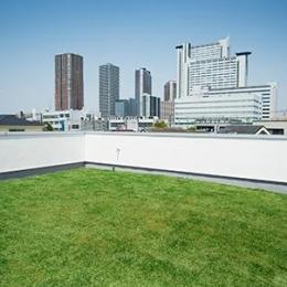 川崎市T邸新築工事・大空間リビングの家 (屋上庭園)