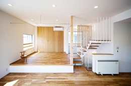 川崎市T邸新築工事・大空間リビングの家 (大空間リビング)