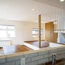 川崎市T邸新築工事・大空間リビングの家