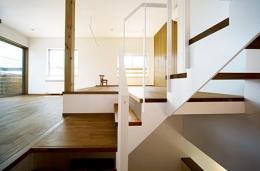 川崎市T邸新築工事・大空間リビングの家 (スキップフロア)
