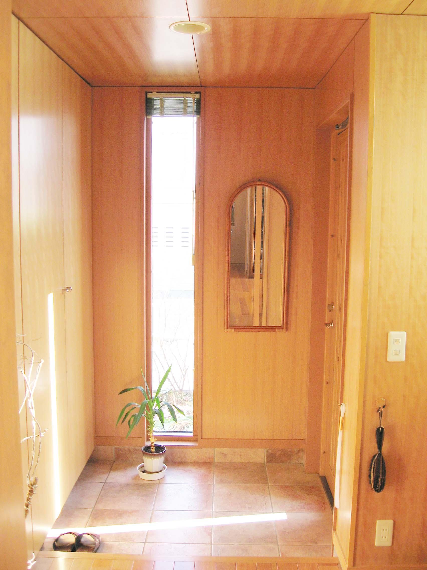 北広島E邸の部屋 玄関