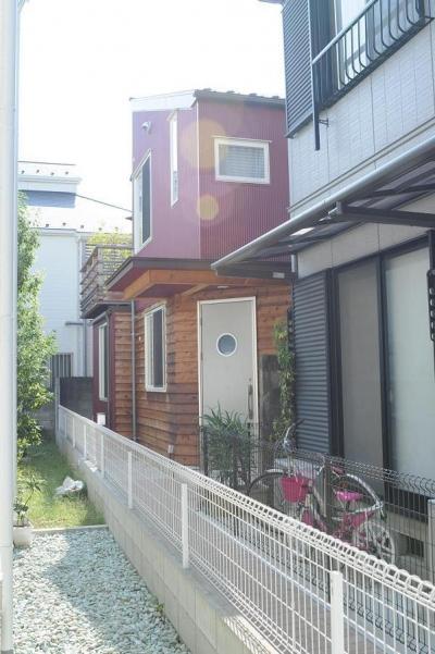世田谷I邸-1 (外観-玄関側)