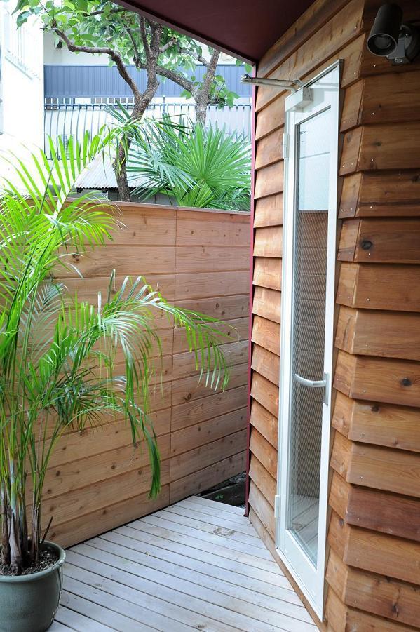 世田谷I邸-1の写真 浴室とつながる1階テラス