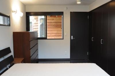 世田谷I邸-1 (1階ベッドルーム)