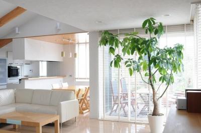 世田谷I邸-1 (2階リビング-2)