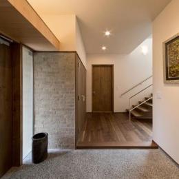 津のコートハウス (玄関)