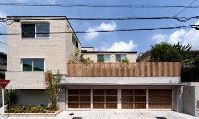 外観|外断熱の家・自由が丘のコートハウス