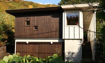 円山のPASSAGE (外観-玄関アプローチ)