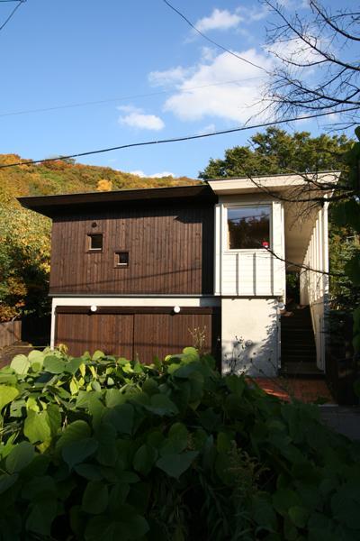 円山のPASSAGEの部屋 外観-玄関アプローチ