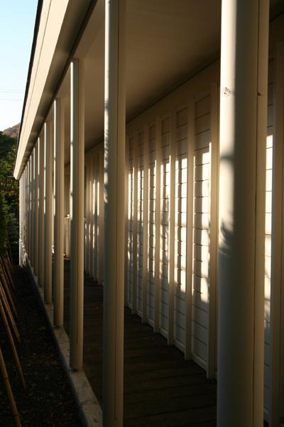 円山のPASSAGEの部屋 外回廊
