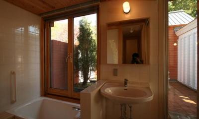 円山のPASSAGE (浴室・洗面)