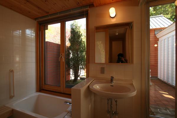 円山のPASSAGEの部屋 浴室・洗面