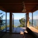 戸島 健二郎の住宅事例「海の崖っぷちのSOHO」