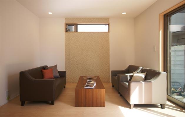 名古屋市 モデルルーム 桜山プロジェクトの部屋 リビング