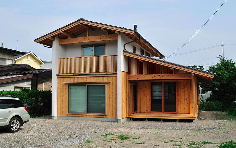 安曇野の家2の写真 外観