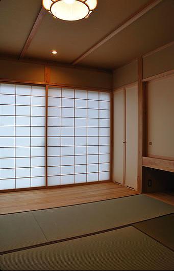安曇野の家2の写真 和室(客間)