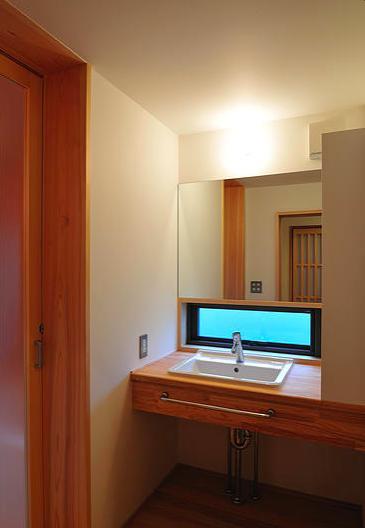 安曇野の家2の写真 洗面脱衣室