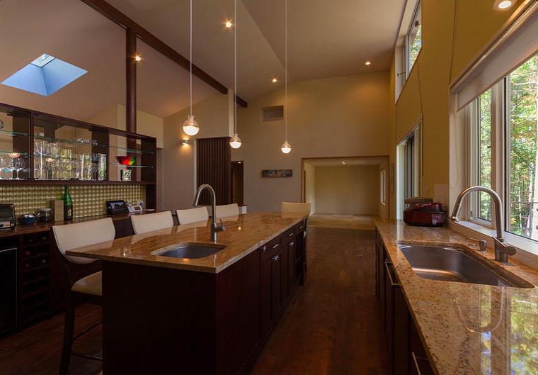 蓼科の家の部屋 キッチン