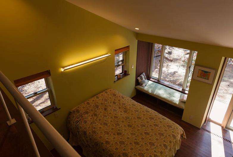 蓼科の家の部屋 ベッドルーム