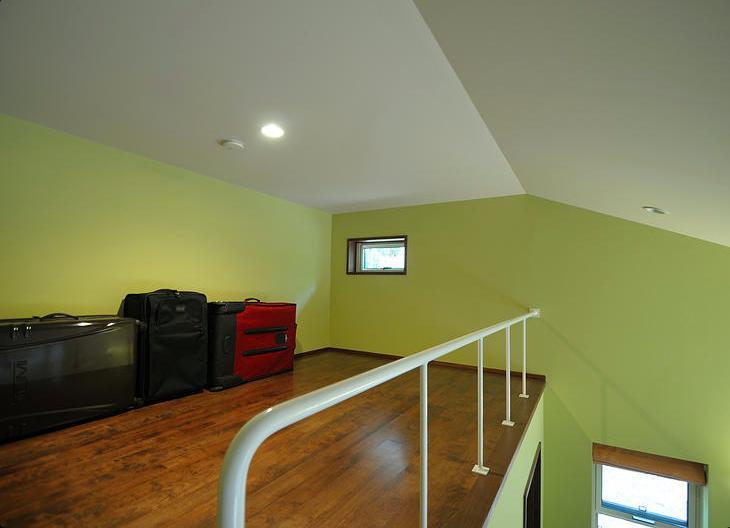 蓼科の家の部屋 ロフト収納