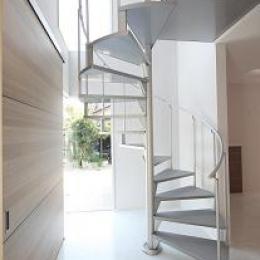 豊山町の家 (螺旋階段)
