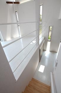 豊山町の家の部屋 階段