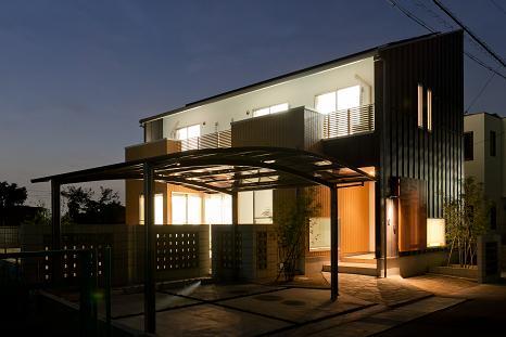 TARAGAの家の写真 外観-夜景