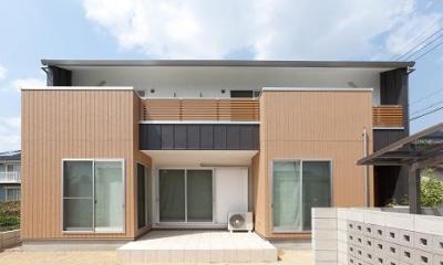TARAGAの家 (外観-正面)