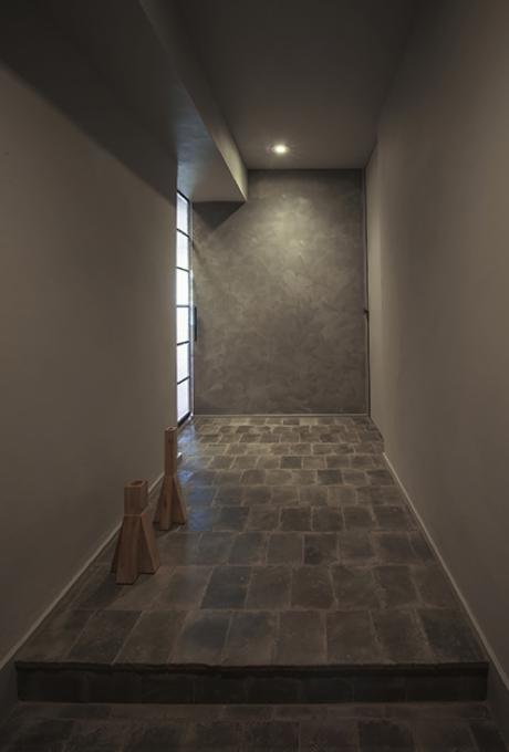 星ヶ丘のリノベーションの部屋 玄関(撮影:多田ユウコ写真事務所)