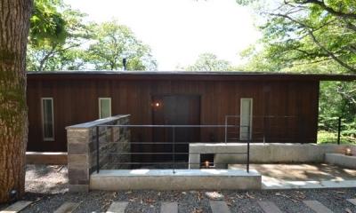 外観1|大きな栗の木の下の家