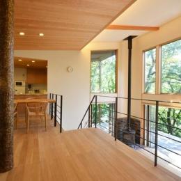 大きな栗の木の下の家 (一体空間のLDK-1)
