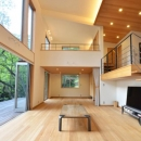大きな栗の木の下の家