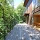 ウッドデッキテラス2 (大きな栗の木の下の家)