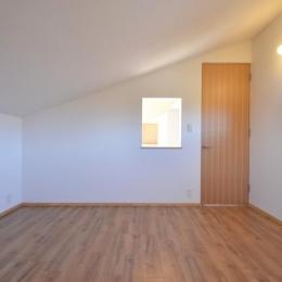 美容室と光庭の家 (個室)