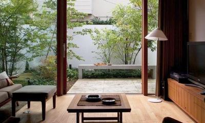 武蔵野の家 (リビングダイニング)