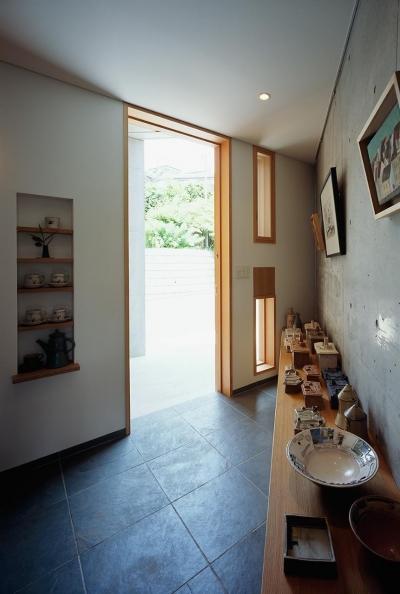 玄関 (神木本町の家)