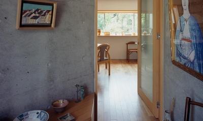神木本町の家 (玄関)