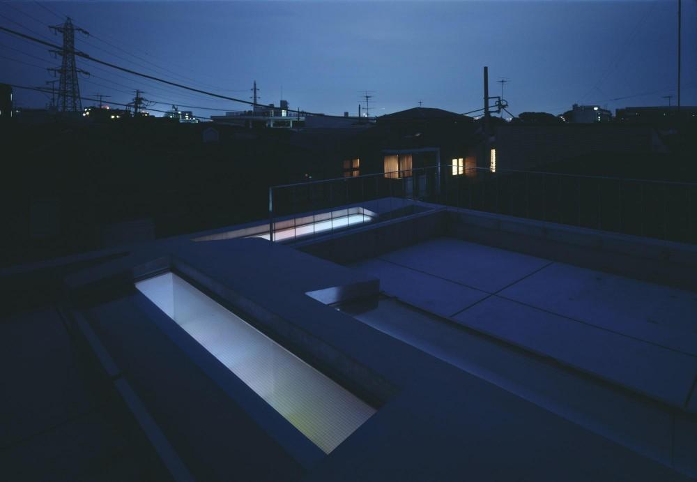 等々力の家 (屋上)