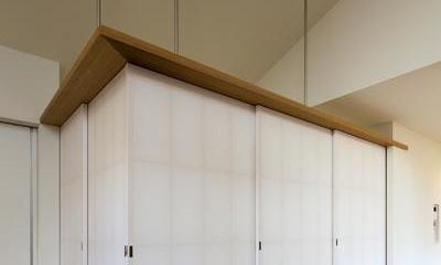 間仕切り可能な畳スペース(撮影:m iwanami)|HOUSE sky 〜2つ屋根の家〜