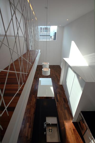 HOUSE ITの部屋 2階よりLDKを見下ろす