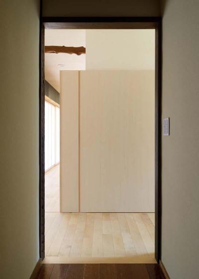 稲美町の離れ DETACHED ROOM in Inami (リビング入口)