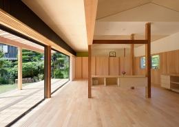 稲美町の離れ DETACHED ROOM in Inami (開放的なリビング1)