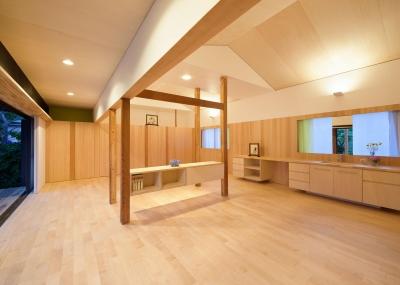 稲美町の離れ DETACHED ROOM in Inami (開放的なリビング2)