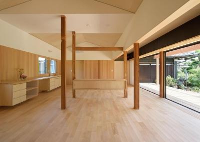 稲美町の離れ DETACHED ROOM in Inami (開放的なリビング3)