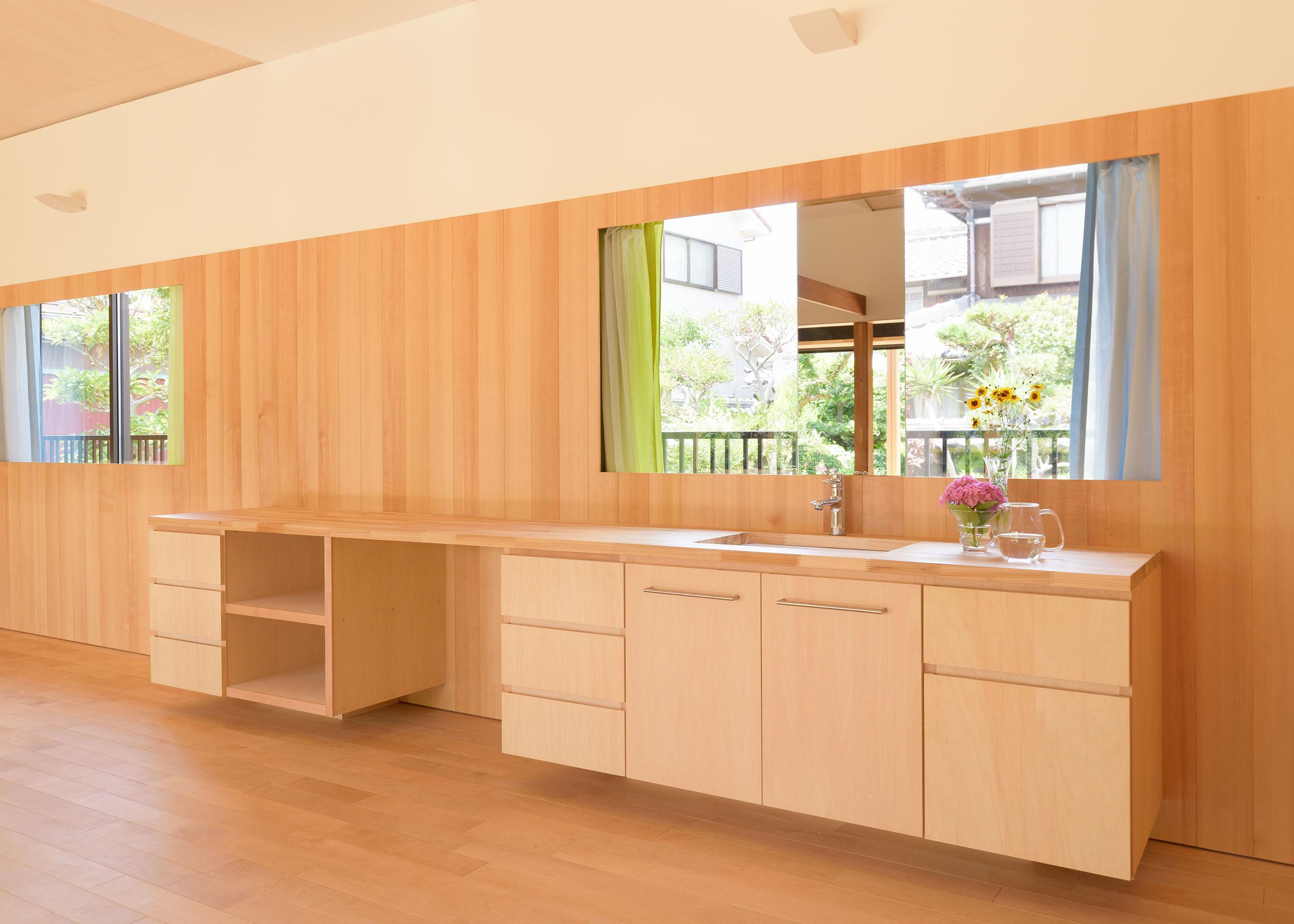 稲美町の離れ DETACHED ROOM in Inamiの部屋 洗面スペース