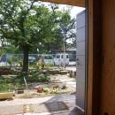 高師浜の住宅 / HOUSE in Takashinohamaの写真 リビングより庭を見る