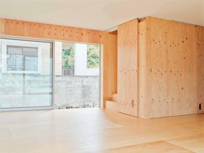 高師浜の住宅 / HOUSE in Takashinohama (リビング2)
