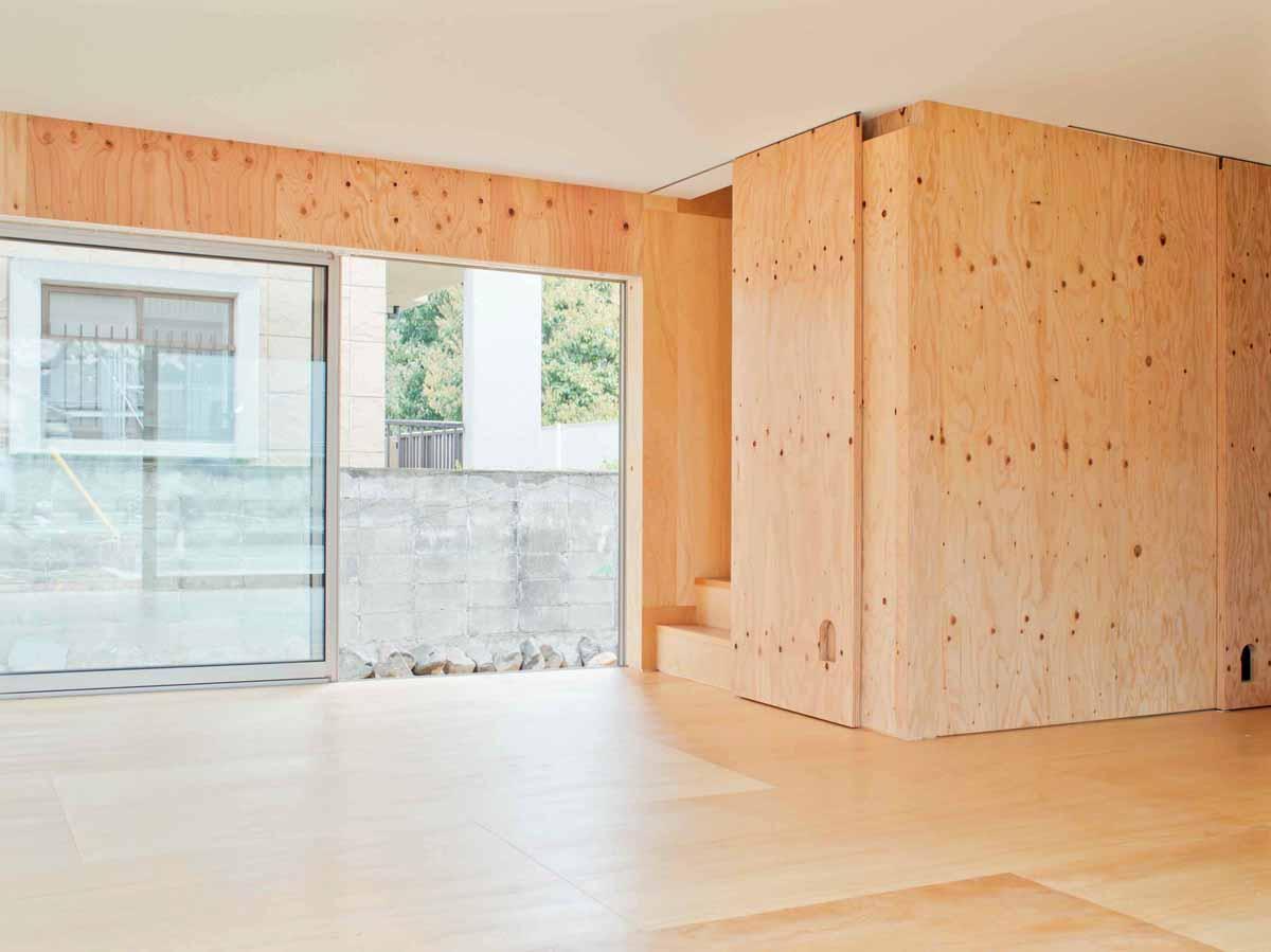 高師浜の住宅 / HOUSE in Takashinohamaの部屋 リビング2
