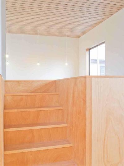 高師浜の住宅 / HOUSE in Takashinohama (階段2)