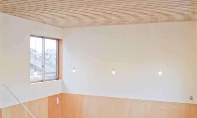 高師浜の住宅 / HOUSE in Takashinohama (天井の高い趣味室)